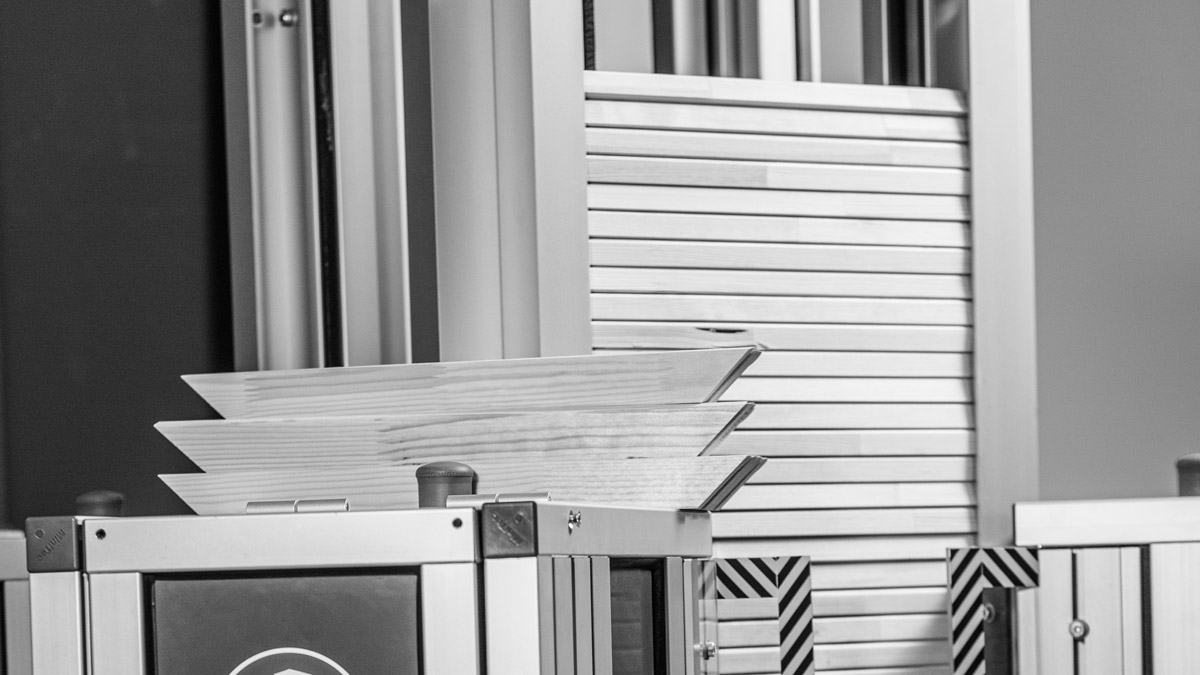 MHP VPLUG frame assembly machine v-nails | MHP VPLUG Rahmenautomat mit V-Nägeln