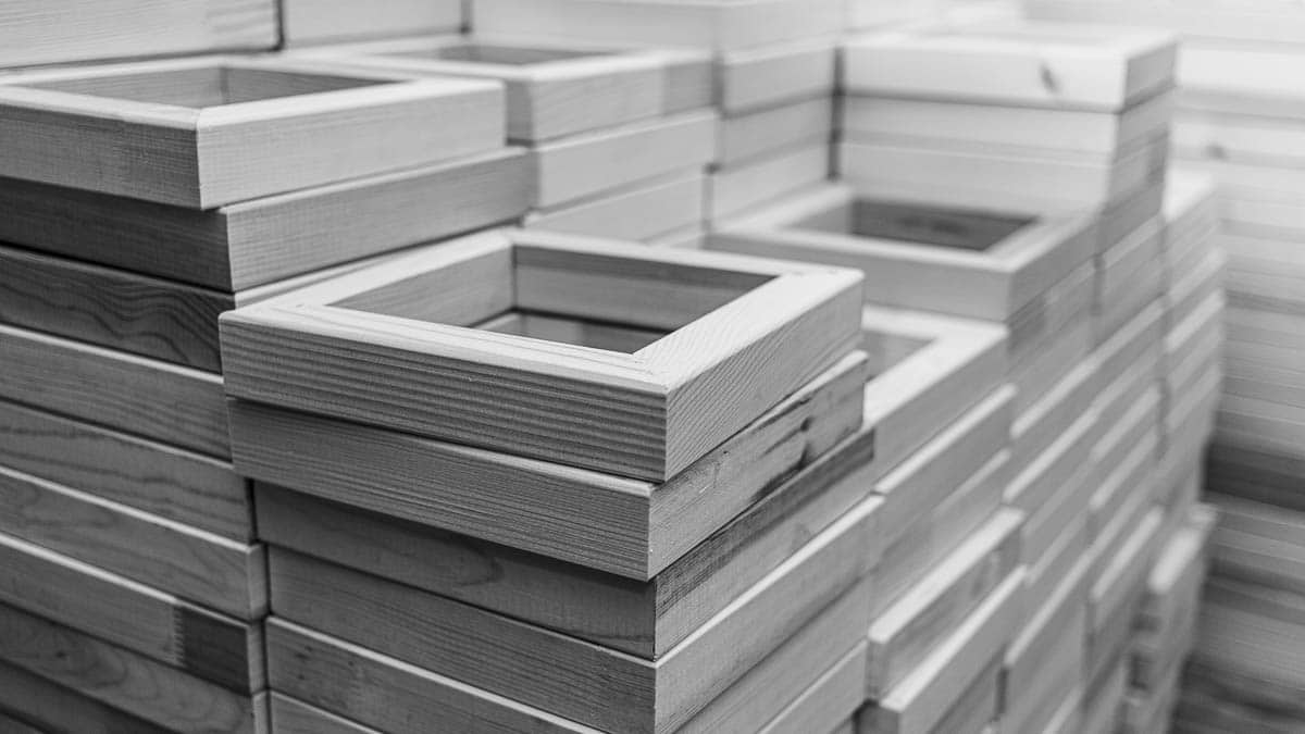 Mass production frames | Massenproduktion Rahmen